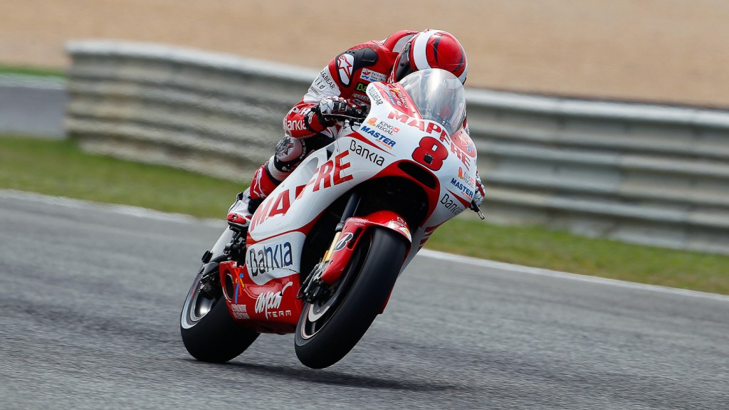 Hector Barbera, Mapfre Aspar Team MotoGP, Estoril FP2