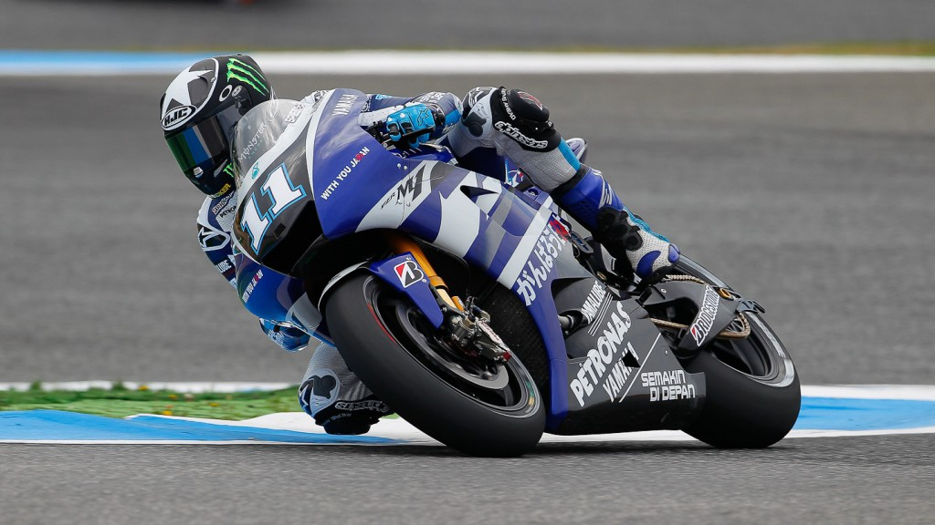 Ben Spies, Yamaha Factory Racing, Estoril FP2