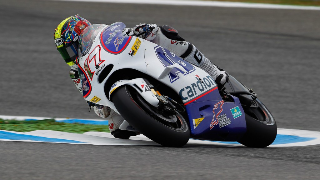 Karel Abraham, Cardion AB Motoracing, Estoril FP2
