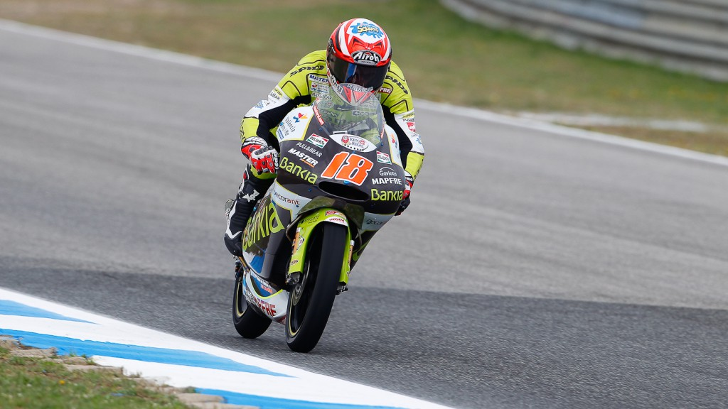 Nico Terol, Bankia Aspar Team, Estoril FP1