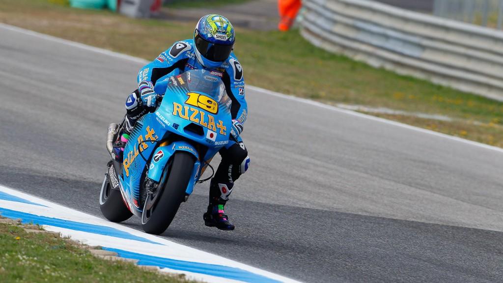 Alvaro Bautista, Rizla Suzuki MotoGP, Estoril FP2