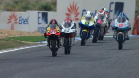 Le vice-Champion du Monde 125cc a de nouveau été intraitable lors de la seconde séance d'essais du Grand Prix bwin du Portugal et a progressé de plus d'une seconde rapport à son meilleur temps de vendredi matin.