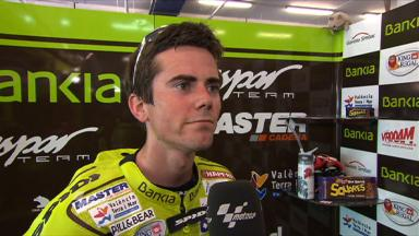 Terol reviews first day of action at Estoril