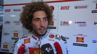 Simoncelli happy after a `great day´