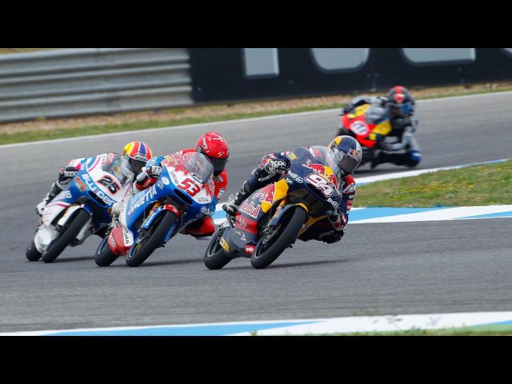 -Moto GP- Season 2011- - 25 maverick vinales 53 jasper iwema 94 jonas folger 125cc group action slideshow