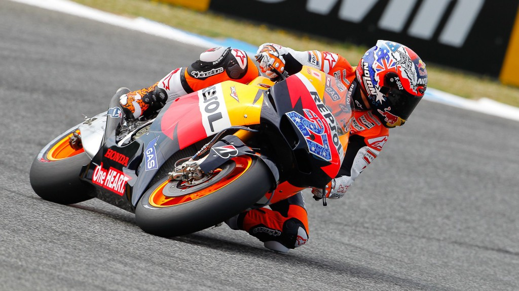 Casey Stoner, Repsol Honda Team, Estoril FP1
