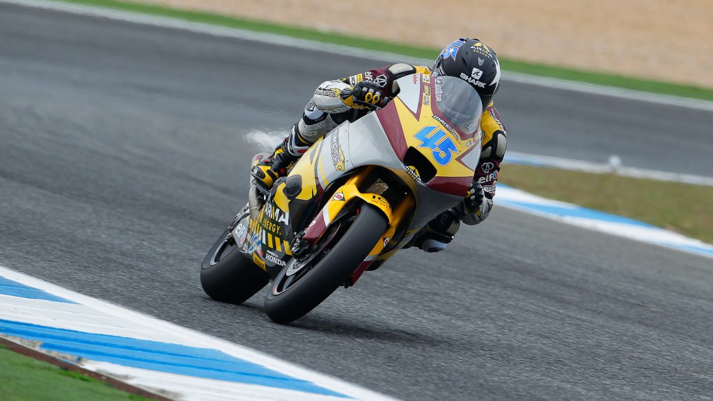 Scott Redding, Marc VDS Racing Team, Estoril FP1