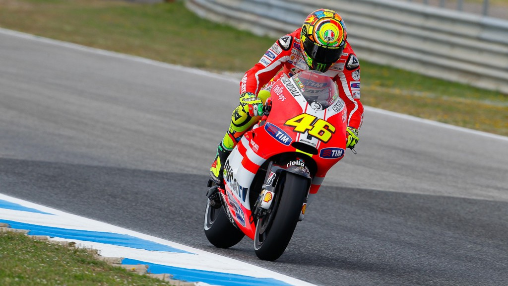 Valentino Rossi, Ducati Team, Estoril FP1
