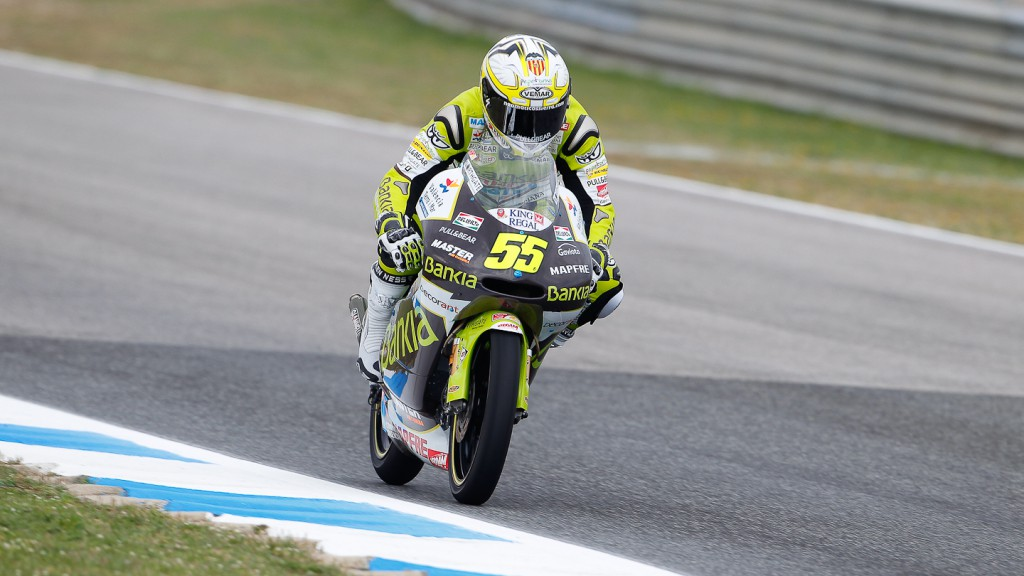 Hector Faubel, Bankia Aspar Team, Estoril FP1