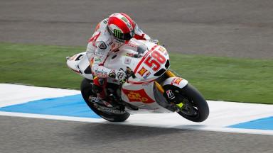 Marco Simoncelli, San Carlo Honda Gresini, Estoril FP2