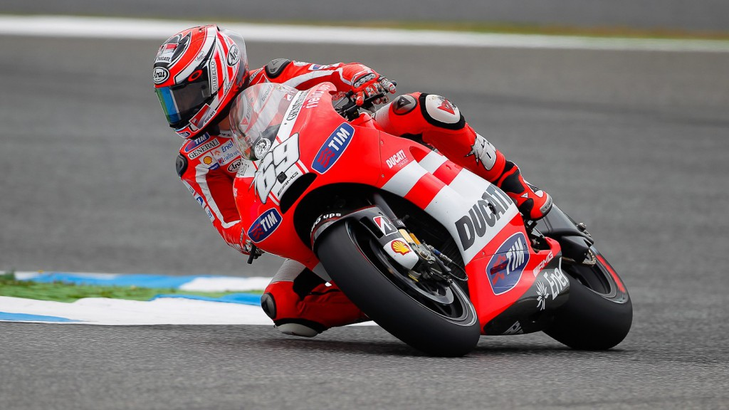 Nicky Hayden, Ducati Team, Estoril FP2