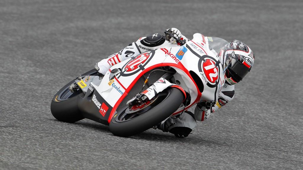 Yuki Takahashi, Gresini Racing Moto2, Estoril FP1