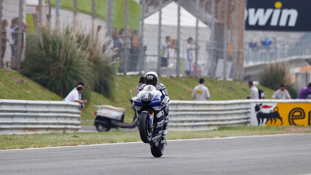 Jorge Lorenzo, Yamaha Factory Racing, Estroril FP2