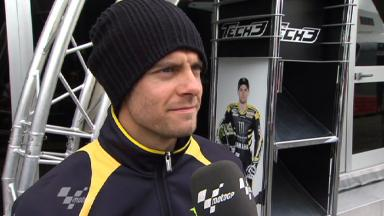 Estoril 2011 - MotoGP - QP - Interview - Cal Crutchlow