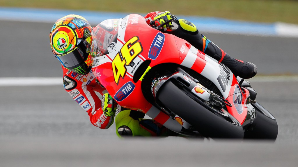 Valentino Rossi, Ducati Team, Estoril QP