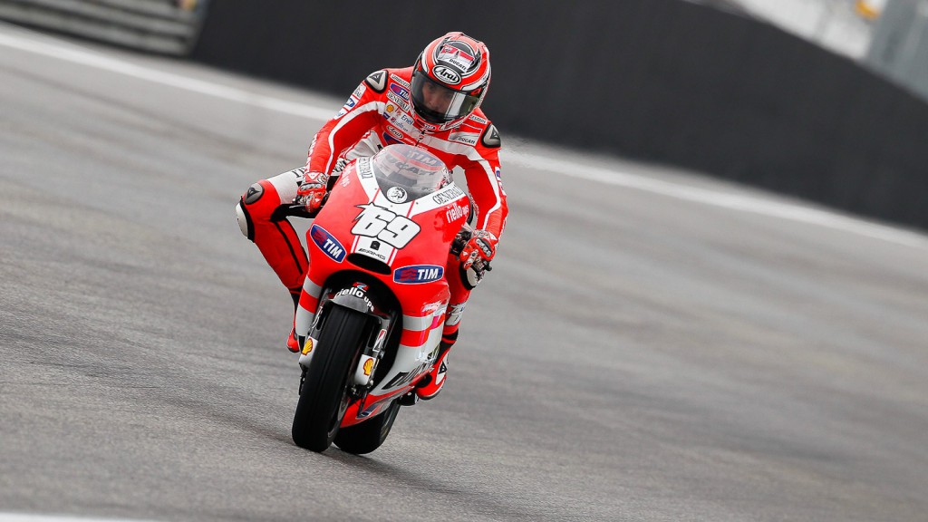 Nicky Hayden, Ducati Team, Estoril FP3
