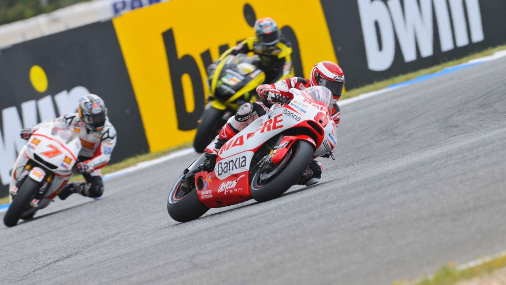 Hector Barbera, Mapfre Aspar Team MotoGP, Estoril QP