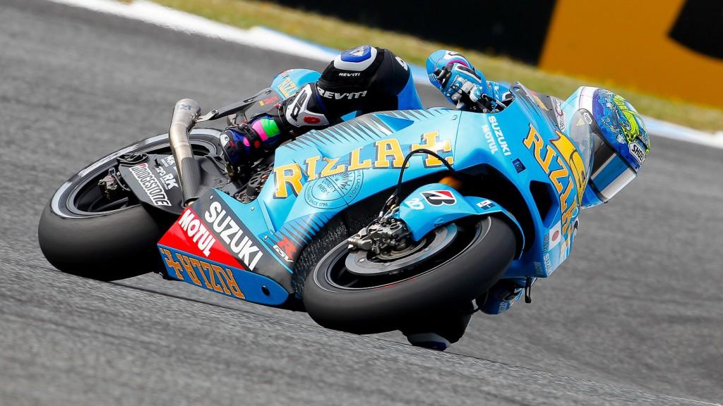 Alvaro Bautista, Rizla Suzuki MotoGP, Estoril QP