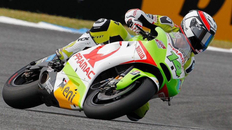 Randy de Puniet, Pramac Racing Team, Estoril QP