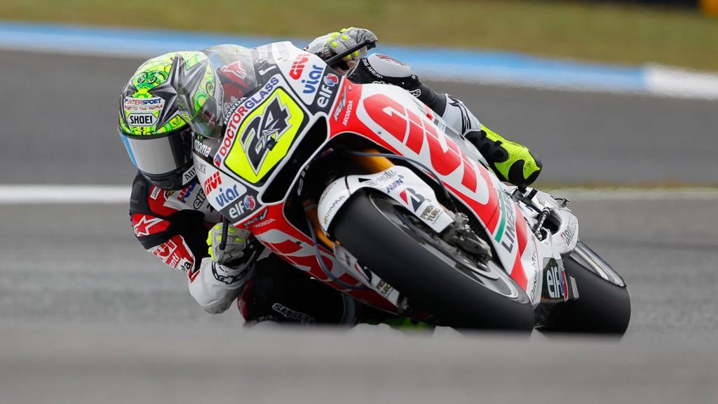 Toni Elias, LCR Honda MotoGP, Estoril QP