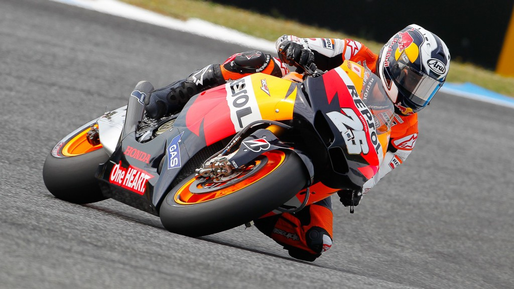 Dani Pedrosa, Repsol Honda Team, Estoril QP
