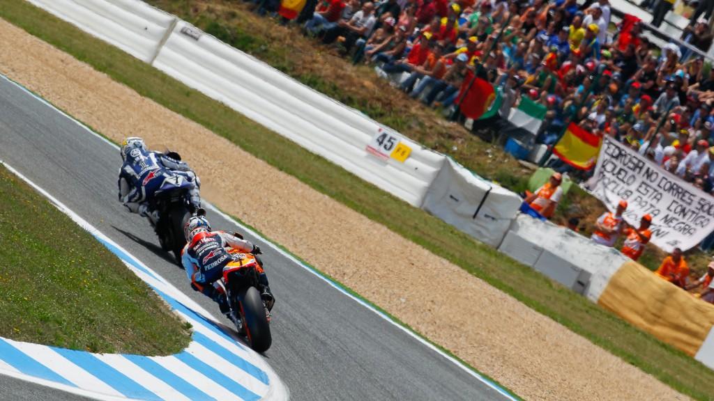 Jorge Lorenzo, Dani Pedrosa, Yamaha Factory Racing, Repsol HondaTeam, Estroril RAC