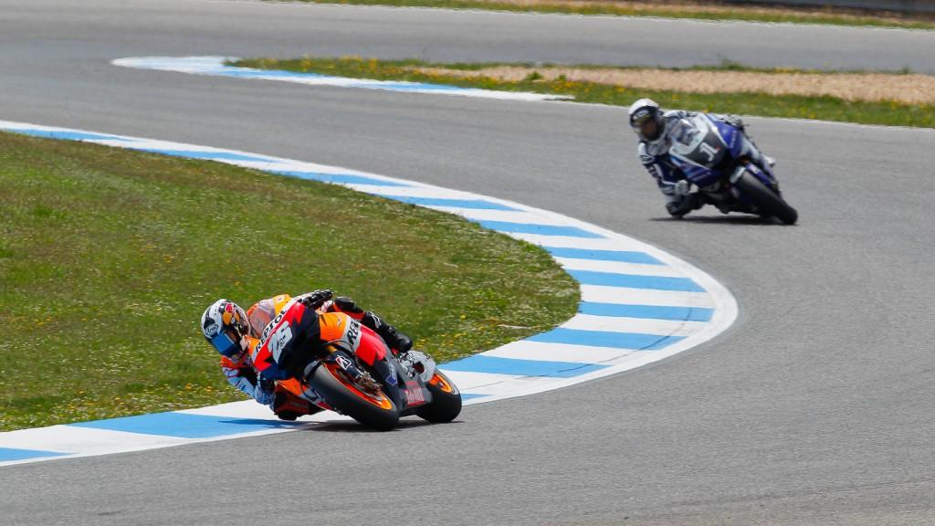 Dani Pedrosa, Jorge Lorenzo, Repsol Honda Team, Yamaha Factory Team, Estoril RAC