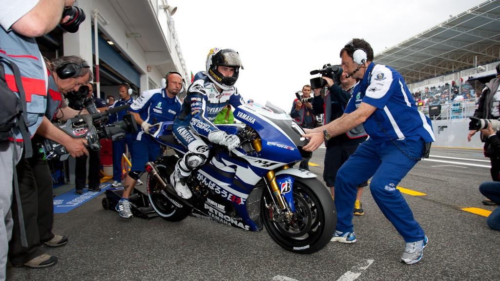 Jorge Lorenzo, Yamaha Factory Racing, Estroril QP