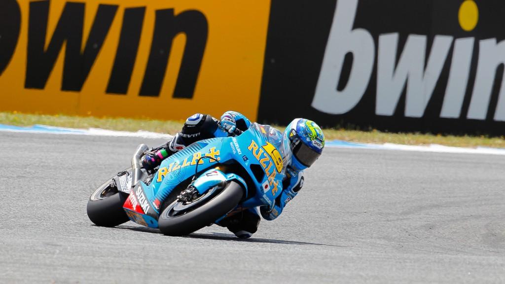 Alvaro BAutista, Rizla Suzuki MotoGP, Estoril RAC