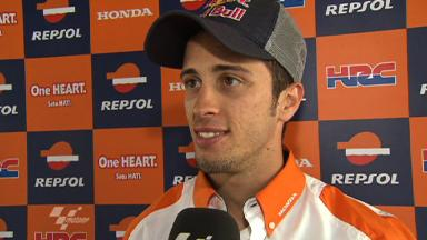 Estoril 2011 - MotoGP - Race - Interview - Andrea Dovizioso