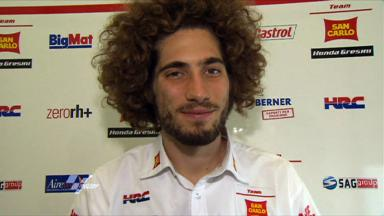 Estoril 2011 - MotoGP - Race - Interview - Marco Simoncelli