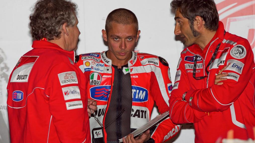 Valentino Rossi, Ducati Team, Estoril QP