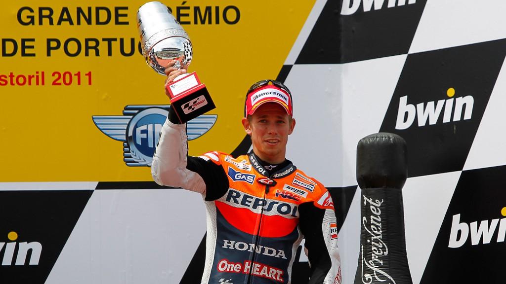 Casey Stoner, Repsol Honda Team, Estoril RAC