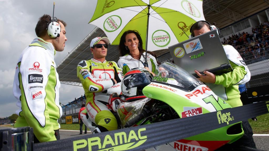 Randy de Puniet, Loris Capirossi, Pramac Racing Team, Estoril RAC - © Copyright Alex Chailan & David Piolé