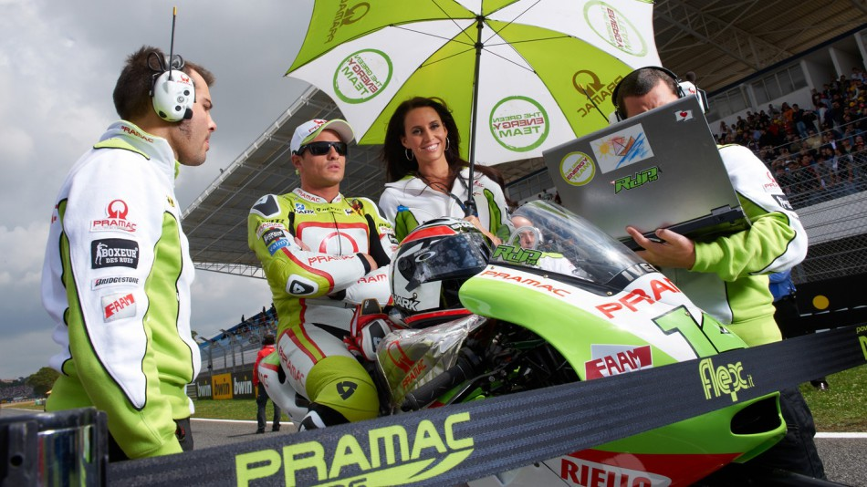 Randy de Puniet, Loris Capirossi, Pramac Racing Team, Estoril RAC - © Copyright Alex Chailan & David Piolé