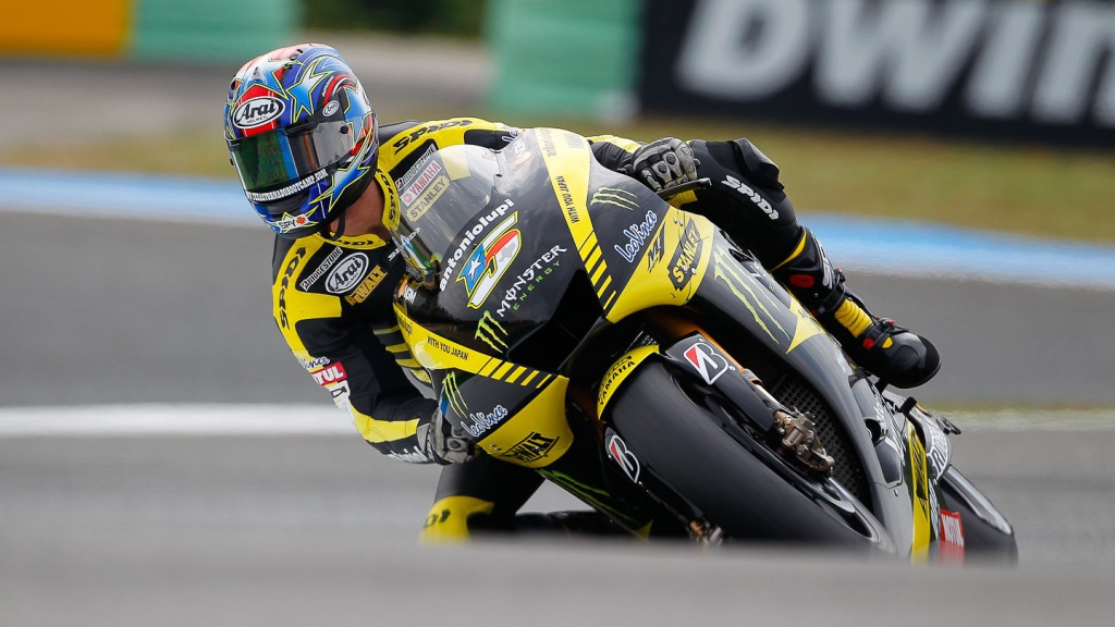 Colin Edwards, Monster Yamaha Tech 3, Estoril WU
