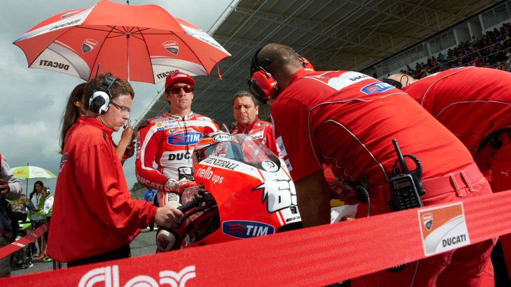 Nicky Hayden, Ducati Team, Estoril RAC - © Copyright Alex Chailan & David Piolé