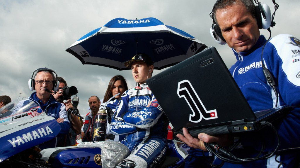 Jorge Lorenzo, Yamaha Factory Racing - © Copyright Alex Chailan & David Piolé