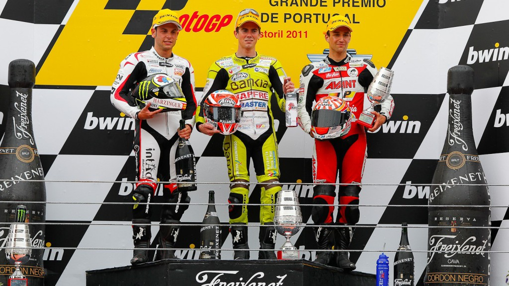 Cortese, Terol, Zarco, Intact-Racing Team Germany, Bankia Aspar Team 125cc, Avant-AirAsia-Ajo, Estoril RAC