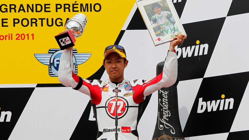 Yuki Takahashi, Gresini Racing Moto2, Estoril RAC