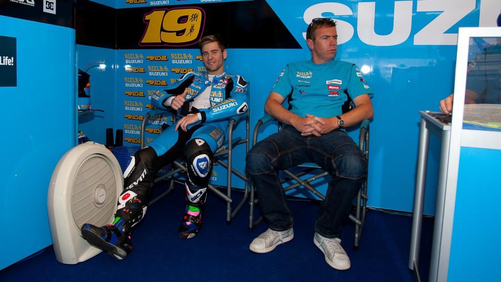 Alvaro BAutista, Rizla Suzuki MotoGP, Estoril Test