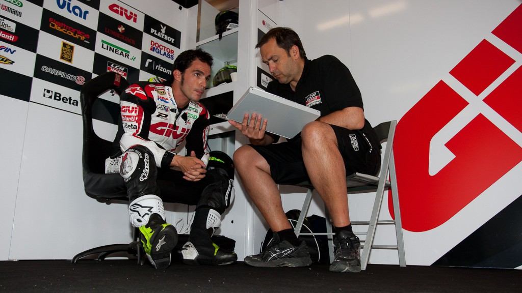 Toni Elias, LCR Honda MotoGP, Estoril Test