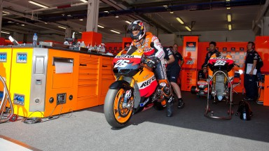 Dani Pedrosa, Repsol Honda Team, Estoril Test