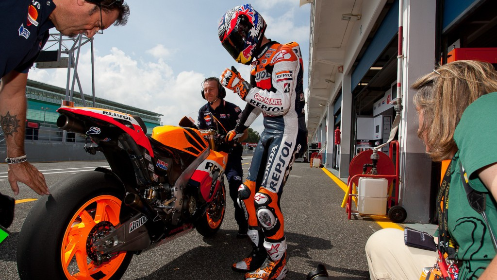 Casey Stoner, Repsol Honda Team, Estoril Test