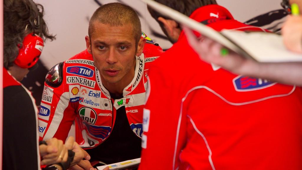 Valentino Rossi, Ducati Team, Estoril Test