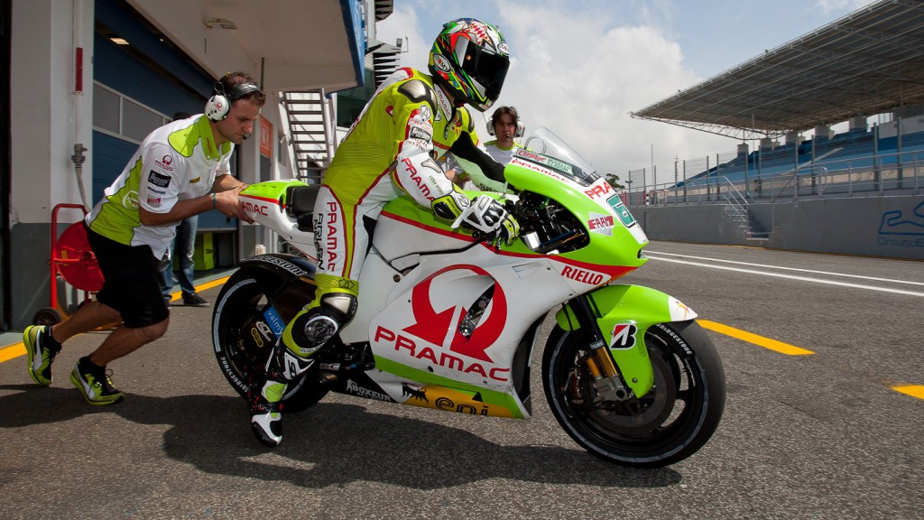 Loris Capirossi, Pramac Racing Team, Estoril Test