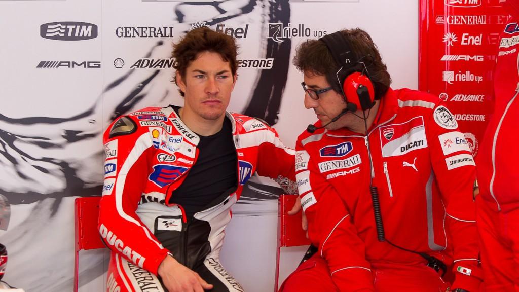 Nicky Hayden, Ducati Team, Estoril Test
