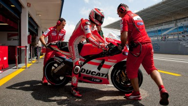 Nicky Hayden, Ducati Team, Estoril Test