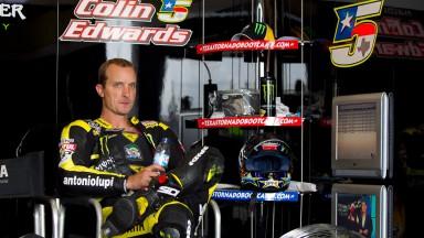 Colin Edwards, Monster Yamaha Tech 3, Estoril Test