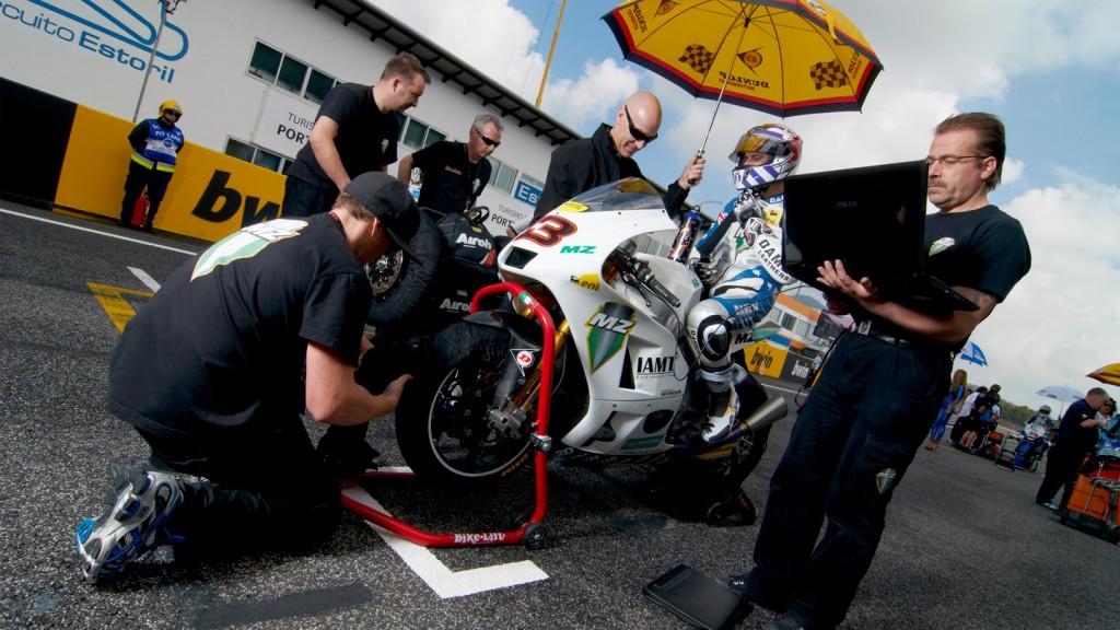Anthony West, MZ Racing Team, Estoril RAC - © Copyright Alex Chailan & David Piolé